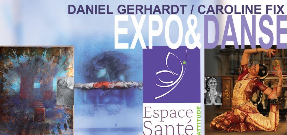 Jeudi 16 novembre. Vernissage de Daniel Gerhardt et Danse Indienne de Caroline Fix
