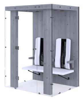 Sauna basse température Physiotherm 2 places EspaceAttitudeSante