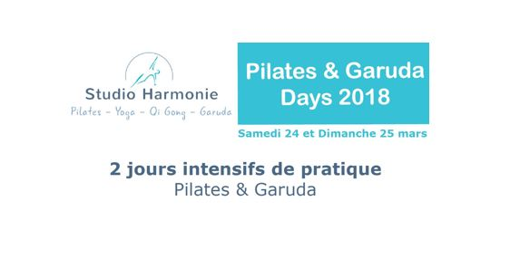 Pilates & Garuda Days 2018 au Studio Harmonie