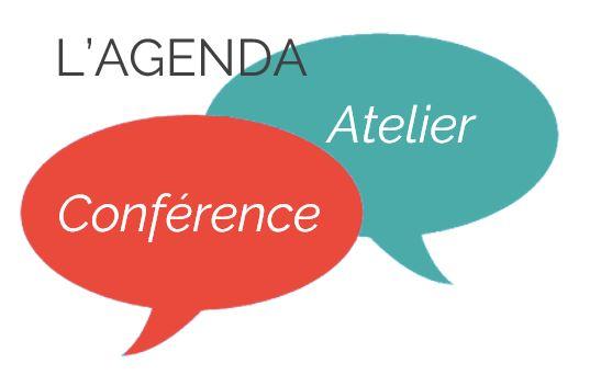 Agenda des conférences et ateliers à l'Espace Attitude Santé