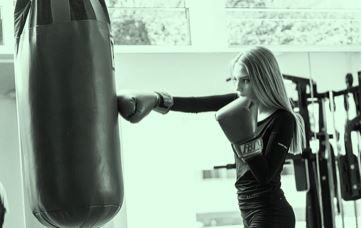 Cours de Body boxe training au Studio Harmonie Wiwersheim, au sein de l'Espace Attitude Santé